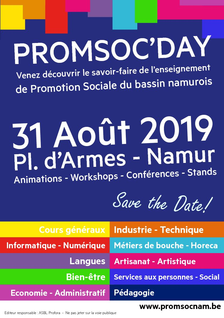 Un salon 100% promotion sociale!