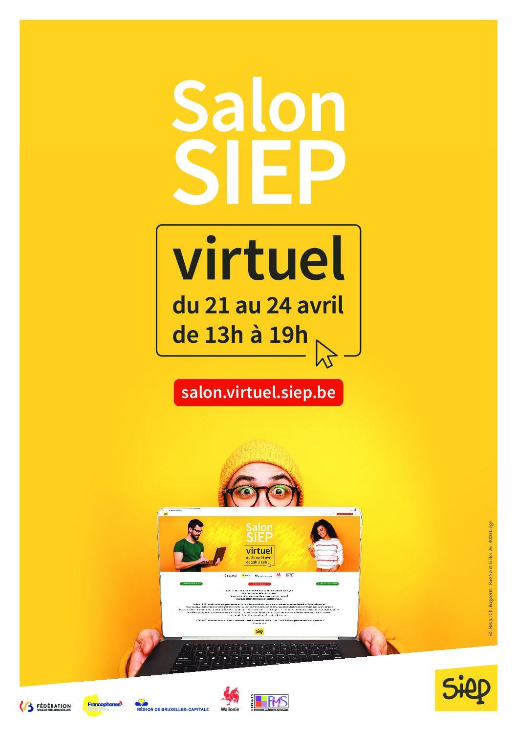 SALON SIEP virtuel – nous y serons!